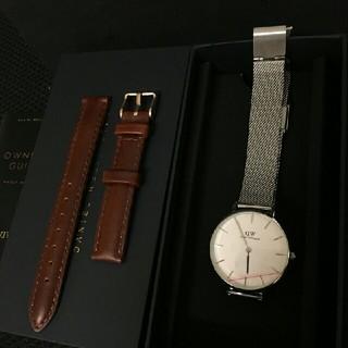 ダニエルウェリントン(Daniel Wellington)のDW32mm 人気アイテム セット 時計とベルト 32ミリ 00100164(腕時計)