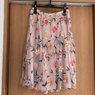ZARA - ザラ♡刺繍チュールスカート