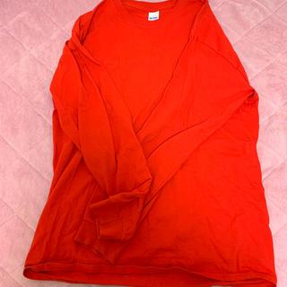 ギルタン(GILDAN)の赤 ロンT(Tシャツ(長袖/七分))