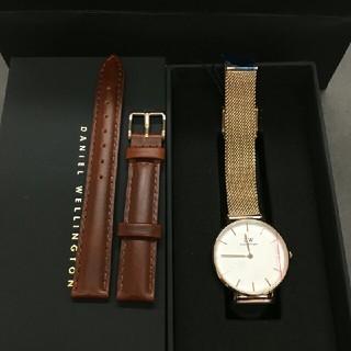 ダニエルウェリントン(Daniel Wellington)のDW 人気アイテム セット 時計とベルト 32ミリ 00100163(腕時計)