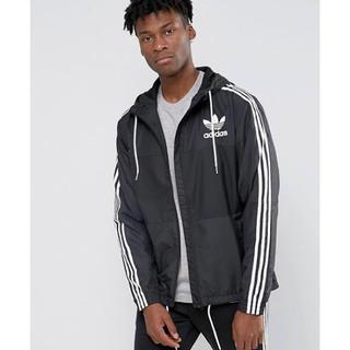adidas - adidas originals ナイロンジャケット ブラック×ホワイト