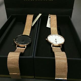 ダニエルウェリントン(Daniel Wellington)のDW 人気アイテム セット 時計とベルト 32ミリ 00100163 -161(腕時計)