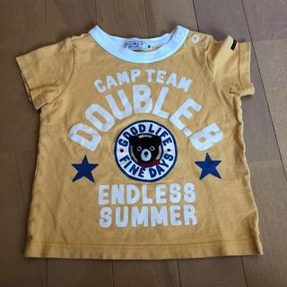 ダブルビー(DOUBLE.B)の80cm ミキハウス ダブルビー Tシャツ(Tシャツ)