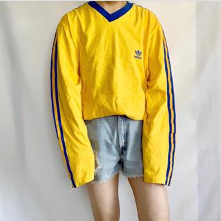 アディダス(adidas)のadidas 90s 長袖ラインTEE(Tシャツ/カットソー(七分/長袖))
