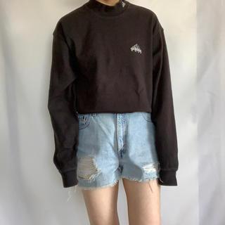 アディダス(adidas)のadidas 90s モックネック長袖TEE(Tシャツ/カットソー(七分/長袖))