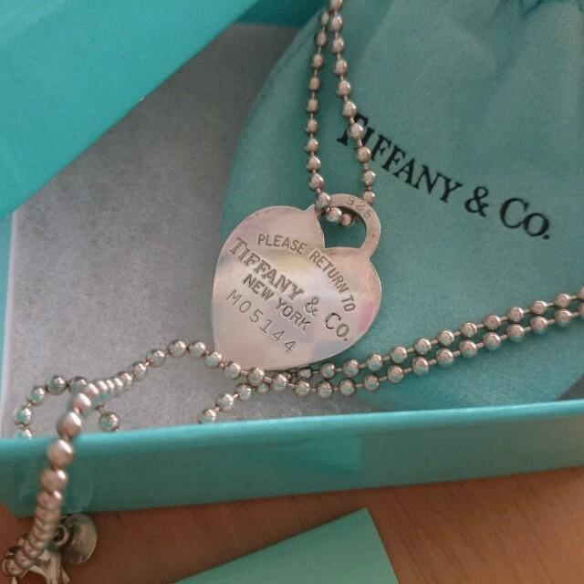 Tiffany & Co.(ティファニー)のティファニーのシルバーペンダント レディースのアクセサリー(ネックレス)の商品写真