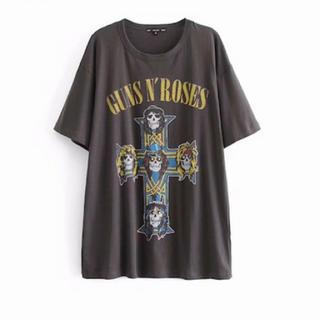 ザラ(ZARA)のロックTシャツ(Tシャツ(半袖/袖なし))