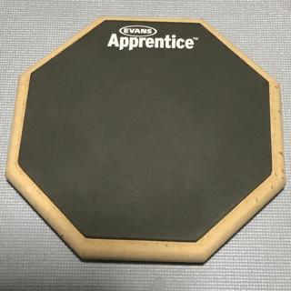 EVANS Apprentice ドラム用 練習パッド(7インチ)(その他)
