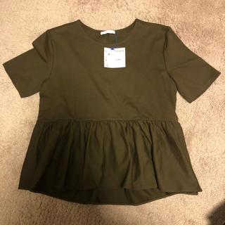 ザラ(ZARA)の【新品タグ付き】ZARA  Tシャツ(Tシャツ(半袖/袖なし))