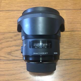 シグマ(SIGMA)のSIGMA art 24mm f1.4 ニコン用 Fマウント(レンズ(単焦点))