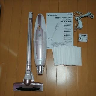 アイリスオーヤマ(アイリスオーヤマ)のアイリスオーヤマ スティック 掃除機 IC-SLDC1-P ピンク 中古(掃除機)