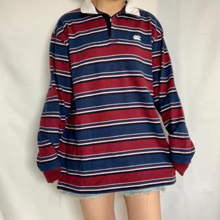カンタベリー(CANTERBURY)のカンタベリーオブニュージーランド ラガーシャツ(ポロシャツ)
