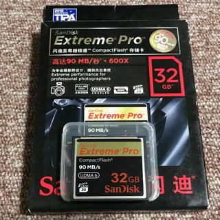 サンディスク(SanDisk)のSun Disk CFカード コンパクトフラッシュ 32GB(その他)