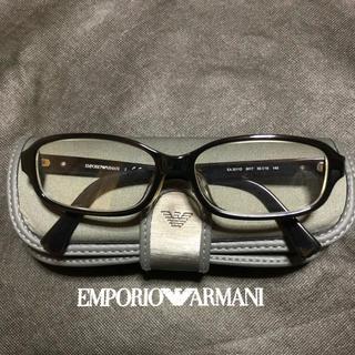 エンポリオアルマーニ(Emporio Armani)のEMPORIO ARMAN(エンポリオアルマーニ)/黒縁メガネ(サングラス/メガネ)
