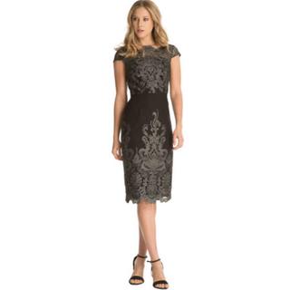 チチロンドン(Chi Chi London)のチチロンドン ブラックドレス(ミディアムドレス)