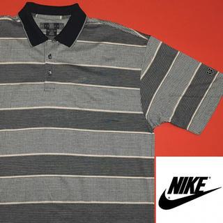ナイキ(NIKE)のナイキ ポロシャツ NIKE GOLF 新品 ゴルフ XXL ボーダー(ポロシャツ)