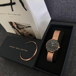 ダニエルウェリントン(Daniel Wellington)のダニエルウェリントン 腕時計 CLASSIC 32MM バングルセット(腕時計)