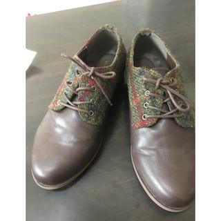 ハリスツイード(Harris Tweed)のHarris Tweed 靴 24.5〜25.0(スニーカー)
