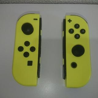 Nintendo Switch - ジョイコン ネオン イエロー