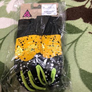 ナイキ(NIKE)のNIKE LAB  ACG グローブ 手袋 XSサイズ イエロー(手袋)