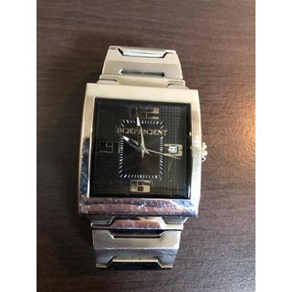 インディペンデント(INDEPENDENT)のINDEPENDENTのスクウェアウォッチ(腕時計(アナログ))