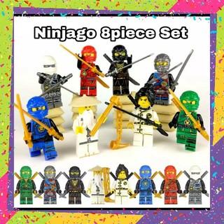 ★新品★Ninjago☆ニンジャゴー♪レゴ♪互換☆人形♪フィギュア♪8体セット♪(SF/ファンタジー/ホラー)
