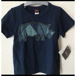 ティーコレクション(T.COLLECTIONS)のtea collection サイ柄 Tシャツ(Tシャツ/カットソー)