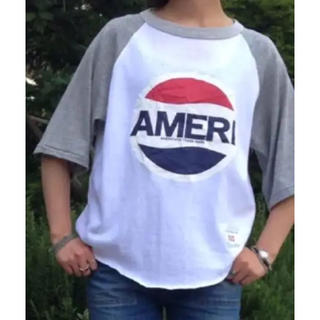 DEUXIEME CLASSE - Americana アメリカーナ ベースボール Tシャツ◆美品