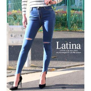 アナップラティーナ(ANAP Latina)の新品 スキニーデニム(デニム/ジーンズ)