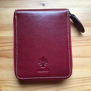アルベロ(ALBERO)のALBERO アルベロ  オールドマドラス  二つ折り財布  美品(財布)