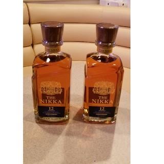 ニッカウイスキー(ニッカウヰスキー)の終売が決定したザニッカ12年2本(ウイスキー)