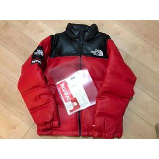 Supreme - supreme northface Leather Nuptse Jacket