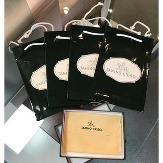 タニノクリスチー(TANINO CRISCI)のタニノクリスチー 保存袋 箱 ショップ袋(ショップ袋)