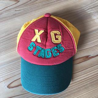 エックスガールステージス(X-girl Stages)のx-girl stageのキャップ帽子(帽子)