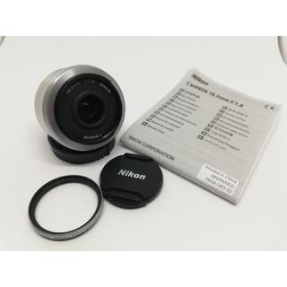 ニコン(Nikon)の⭕⭐美品⭐⭕人気の単焦点Nikon1 NIKKOR 18.5mm f1.8(レンズ(単焦点))