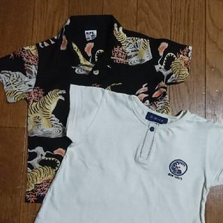 エムピーエス(MPS)の90センチ 半袖Tシャツ2枚セット(Tシャツ/カットソー)