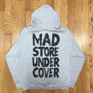 アンダーカバー(UNDERCOVER)のUndercover  Mad store限定 パーカー スウェット グレー(パーカー)
