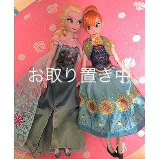 ディズニー(Disney)のお取り置き中   アナとエルサ 人形 ディズニー(ぬいぐるみ/人形)