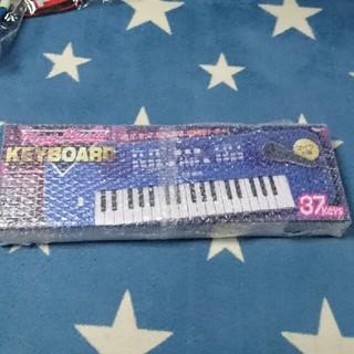 プレイミュージック キーボード カラー ブルー(キーボード/シンセサイザー)