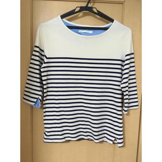 ブラウニー(BROWNY)のボーダー Tシャツ 七分袖(Tシャツ/カットソー(七分/長袖))