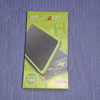 ニンテンドー2DS(ニンテンドー2DS)の新品未使用★Newニンテンドー2DS LL本体ブラック×ライム★送料別(携帯用ゲーム本体)