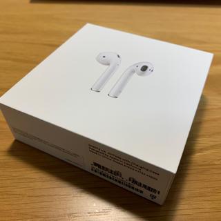 正規品 Apple AirPods ワイヤレスイヤホン