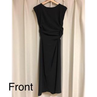 ザラ(ZARA)のZARA ブラック ドレス ワンピース(ミディアムドレス)