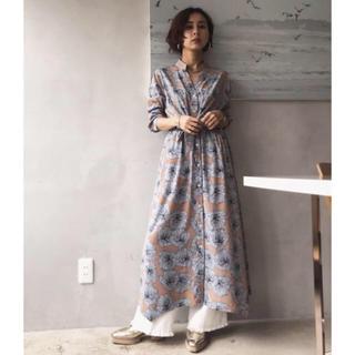 Ameri VINTAGE - Ameri  VINTAGE*新品タグ付きTIE SHIRT DRESS