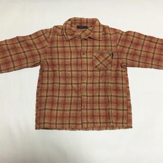 ズッカ(ZUCCa)のセール中! Zucca ズッカ 子供 120cm チェックシャツ(Tシャツ/カットソー)