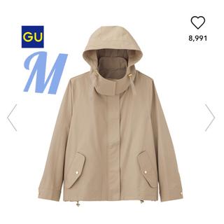 GU - 【新品タグ付き】マウンテンパーカー M ベージュ