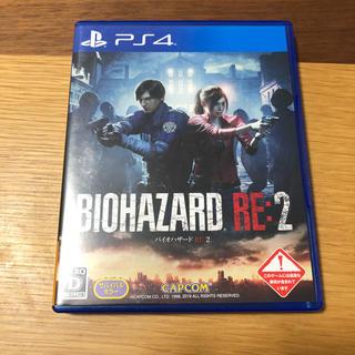 プレイステーション4(PlayStation4)のバイオハザード re2 ps4カセット(家庭用ゲームソフト)