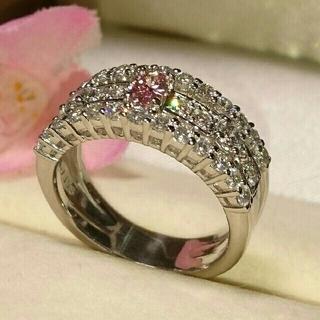 確認用 ピンクダイヤモンド★パライバトルマリン★D―IF ダイヤモンド(リング(指輪))