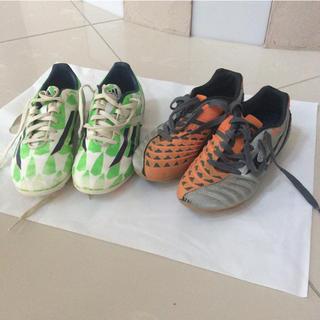 アディダス(adidas)のサッカースパイク ミズノ21cm  アディダス21.5cm(シューズ)