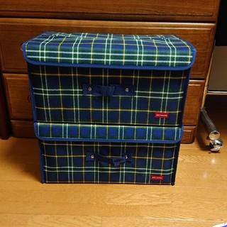 ミキハウス(mikihouse)のミキハウス ダブルビー ストレージボックス 箱 ドリパ 2セット(ケース/ボックス)